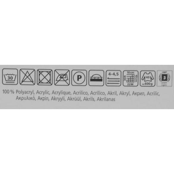 Lisa fonal - 288 Törtfehér