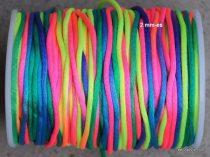 Selyemzsinór 2 mm-es színes
