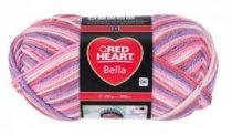 Red Heart Bella fonal - rózsaszín melír - 1003