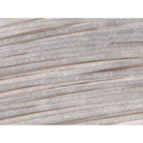 Viaszolt szál 1 mm-es - fehér (viaszos fonal)