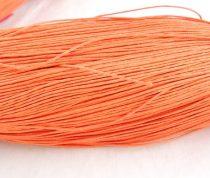 Viaszolt szál 1 mm-es - narancs