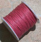 Viaszolt szál 1 mm-es - sötétrózsaszín