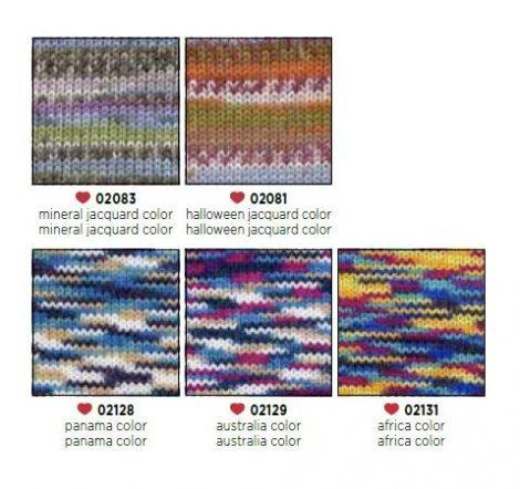 Lisa Color kötőfonal - rendelhető színek