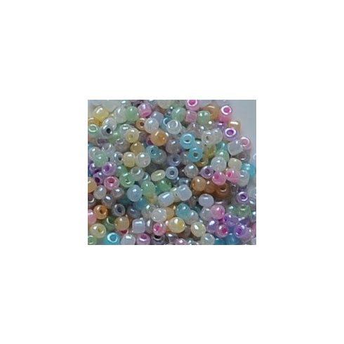 Selyemfényű pasztell gyöngyök