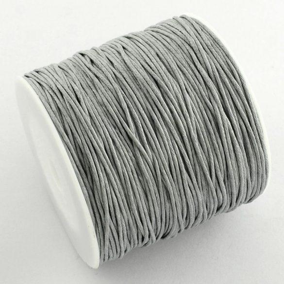 Viaszolt szál 1 mm-es - ónszürke