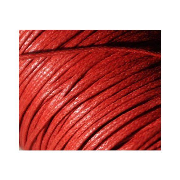 Viaszolt szál 1 mm-es - piros